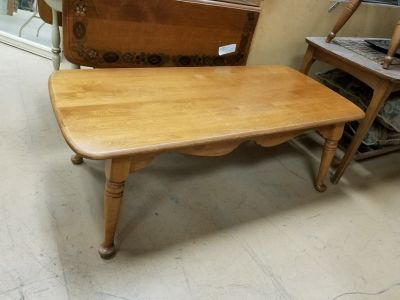 Ethan Allen Solid wood coffee table