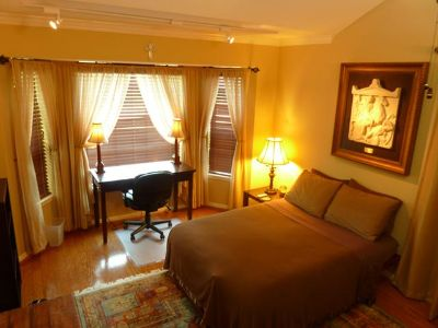 $639, Very nice furn. bdrm in beautiful clean and quiet home.