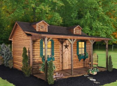 log cabin good for hunting or recreational use