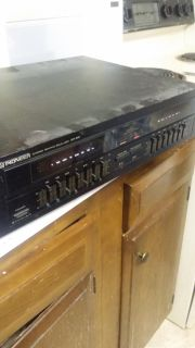 Pioneer equalizer with double spectrum