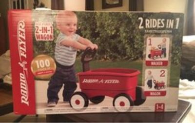 Radio Flyer 2-in-1 Wagon