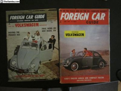 Foreign Car Guide 1959 1960