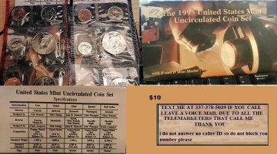 1995 us mint uncirculated coin set