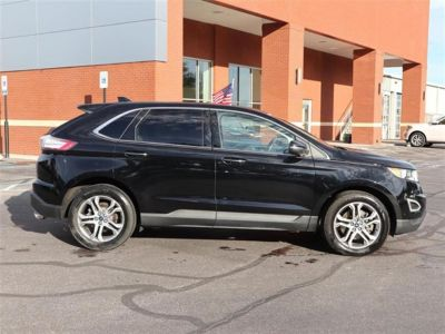 2016 Ford Edge 4dr Titanium FWD (BLACK)
