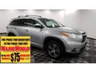 $30888.00 2016 Toyota Highlander with 37243 miles!