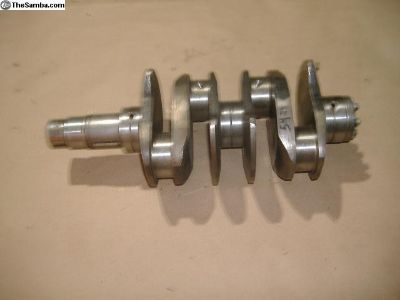VW Bug counter weighted crankshaft