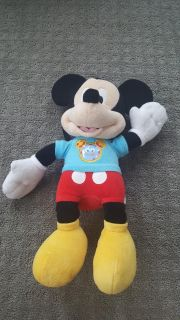 Mickey Mouse Clubhouse Talking Plush Hot Diggity Dog Mouskatools Like New