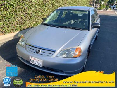 2001 Honda Civic LX (Satin Silver Metallic)