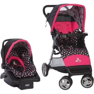 Disney Baby Simple Fold LX Travel System, Minnie Mash Up
