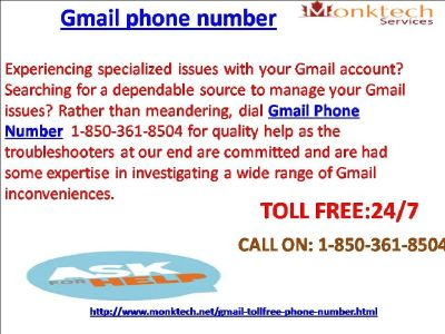 Call Gmail signal to expertise Our Magnificence and expertise 1-850-361-8504