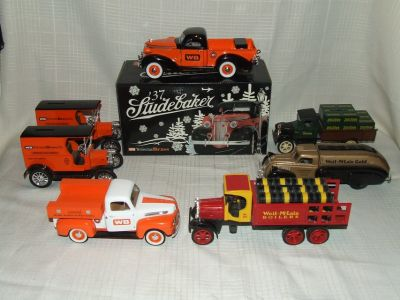 Die Cast Metal Bank Truck Collection Wolverine Brass Weil-McLain