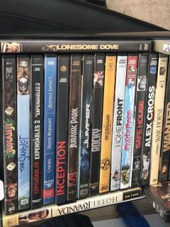 30 DVDs action movies