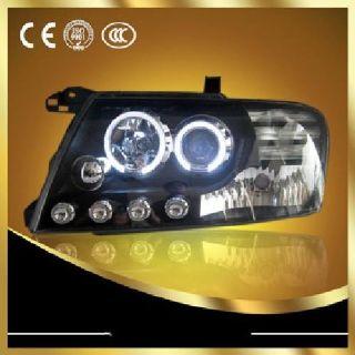 2000-2008 Mitsubishi Montero Pajero V73 Headlights with Bi-xenon Projector