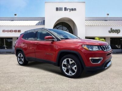 2018 Jeep Compass Limited (Red Line)