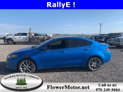 2015 Dodge Dart SXT (Laser Blue)