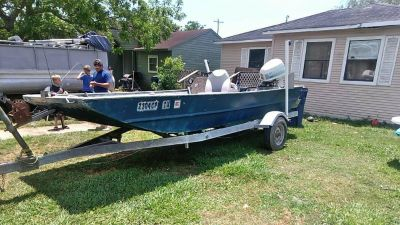 Alweld fisher boat for sale or trade