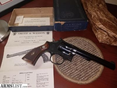 For Sale/Trade: S&W model 17-2 k22 masterpiece