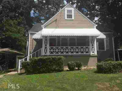 1467 Clermont Ave East Point, Cute Two BR cottage with