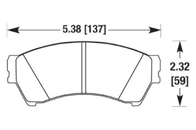Sell HAWK HB565Z.688 - 06-09 Ford Fusion Front Brake Pads Ceramic motorcycle in Chino, California, US, for US $87.79