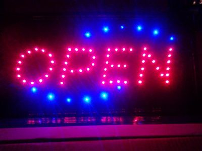 $25, Animated LED Bright OPEN SIGNS for sale