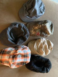 Lot of 6 hats