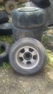15 inch Chevy wheels and tires