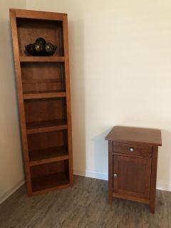 Shelf and Table