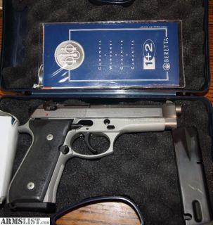 For Sale: Inox Beretta 92fs