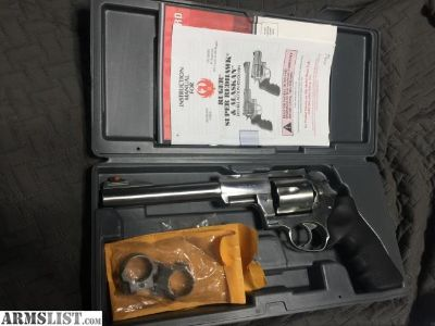 For Sale: Ruger Super Redhawk Stainless 44mag