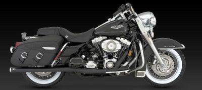 Purchase Vance & Hines Big Shot Duals Black 2007 2008 Harley Davidson Touring motorcycle in Ashton, Illinois, US, for US $733.46