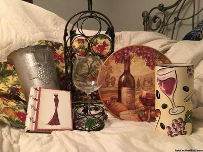 Various wine things