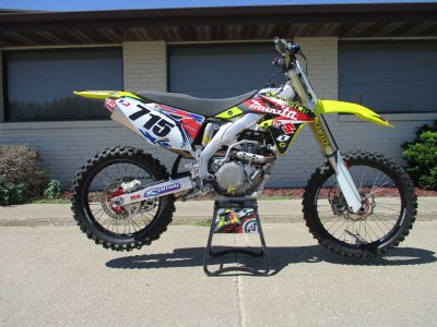 2010 Suzuki Motor of America Inc. RM-Z450 Motocross Motorcycles Winterset, IA