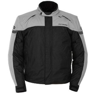 Find Tourmaster Jett 3 Silver Medium Textile Motorcycle Street Riding Jacket Md motorcycle in Ashton, Illinois, US, for US $152.99