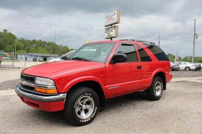 2001 Chevrolet Blazer LS (Red)