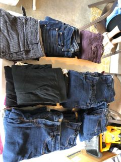 Women s jeans or pants