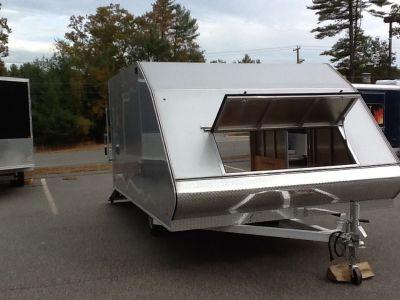 2015 Alcom Trailer 101X12 HYBRID Utility Barre, MA