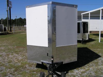6 x 8 Enclosed Trailer Extra Height