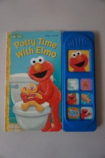 Potty Time With Elmo (Play a Sound) Board Book