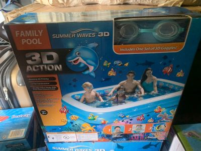 3D action pool
