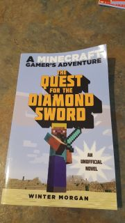 Minecraft book. Maybe read once. Excellent condition.