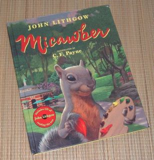 NEW Vintage 2002 Micawber by John Lithgow Hard Cover Book & CD Set Age Range 4 - 8