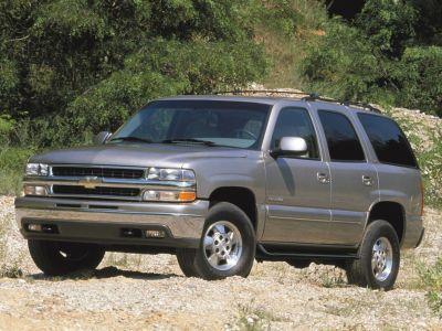 2003 Chevrolet Tahoe Base (Black)