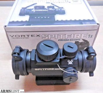 For Sale: Vortex Spitfire 1x Prismatic