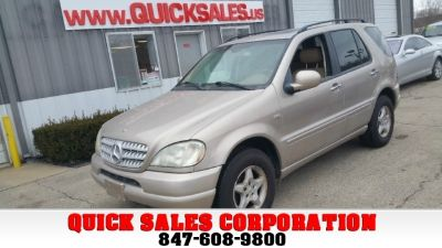 2001 Mercedes-Benz M-Class ML320 AWD