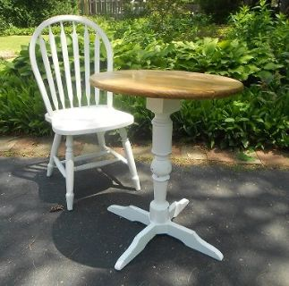 Farmhouse table and chair