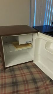 Dorm fridge