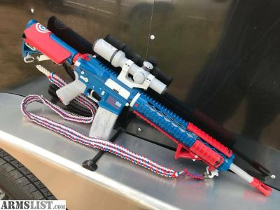 For Sale/Trade: Custom Red white and blue AR-15
