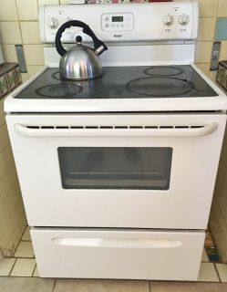 Kenmore Electric Stove - White