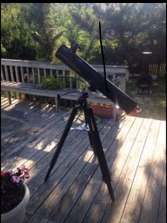 "Celestron 4 1/2"" (114mm) Newtonian Telescope 910mm f L."
