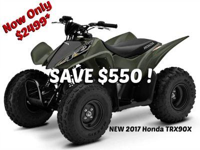 2017 Honda TRX90X Kids ATVs Erie, PA